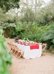 Italian Table Setting Casual Outdoor Wedding On Onewed