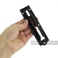 6 inch black door chain lock