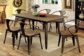 industrial style outdoor furniture. Industrial Style Outdoor Furniture. Impressing Dining Chairs Doran Table Set 1 Bmorebiostat Com Furniture D