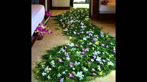 Marriage Bedroom Decoration Gorgeous Flowers Bridal First Night Bedroom Decoration Ideas Youtube
