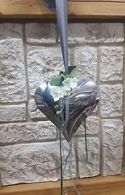 Details Zu Fensterdeko Nr15 Herz Silber 22x20cm Orchidee Edel Elegant Türdekoration