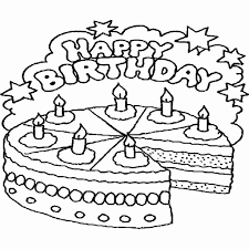 Verjaardag Kleurplaat 3 Jaar Kleurplaat Taart Dejachthoorn
