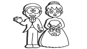 Tuyển tập tranh tô màu Nobita đẹp nhất - Tranh Tô Màu cho bé