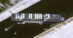 เรือขวางคลองสุเอซ เสียหายชั่วโมงละ 12,000 ล้านบาท - workpointTODAY