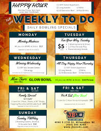 daily bowling deals weekly to do bowling deals bowling offers bowling specials