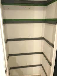 how to build shelving in a closet put shelves