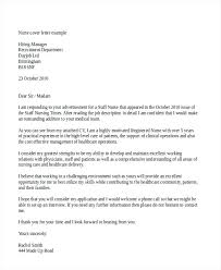 Example Of Cover Letter For Nursing Job Example Cover Letter For ...