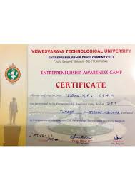 1 8 Entrepreneurship Certificate