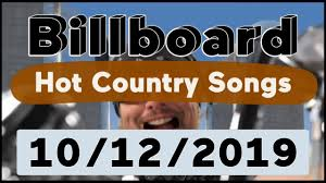 Australian Country Radio Charts Billboard Top 50 Hot Country Songs October 12 2019