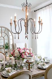 french country dining rooms. I Absolutely LOVE These Cloches! They Add Such An Elegant Touch To My Buffet! Cant Wait Style Them In Different Ways For Each Season. French Country Dining Rooms O