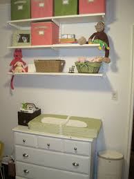 Dresser Drawer Shelves Baby Nursery Nursery Chest Drawer And Changing Table Beige
