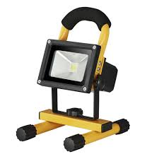 Portable Flood Lights Outdoor Off The Grid Homes 2pcs 10w Dc12v 24v Working Lamp