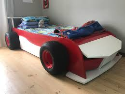 car beds with slides. Brilliant With Built A Racing Car Bed For My Son Bonnet Lifts Up And Side Panel Slides  Out Extra Storage With Car Beds Slides B
