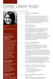 qa analyst for mobile apps resume samples qa resume template