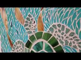 sold sea turtle art stained glass mosaic wood surfboard