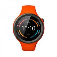 motorola 360 sport. motorola 2nd gen moto 360 46mm men\u0027s smartwatch (sport orange band) sport e