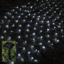 outdoor fairy lighting. Babz 105 LED OUTDOOR NET STRING CHRISTMAS FAIRY LIGHTS SOLAR POWERED GARDEN Outdoor Fairy Lighting