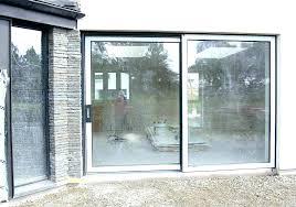 sliding doors with built in blinds pella glass door cost