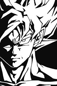 Dragon Ball Z Clipart Black And White Free Clipart On
