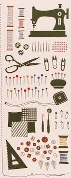 decor linen fabric multiuse: japanese tenugui towel cotton fabric sewing machine needle spool button scissors stitch hand dyed fabric kawaii home decor japanlovelycrafts
