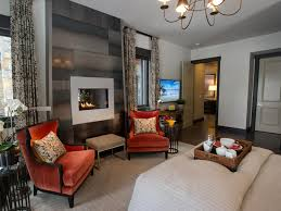 image of bedroom fireplace wall