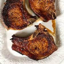 perfectly pan seared pork chops the
