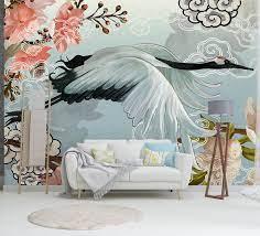 Traditional wallpaper, Mural wallpaper