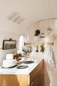 Airstream Interior Design Minimalist Cool Decorating
