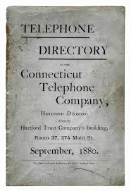 Telephone Listing Up For Auction 1880 Phone Directory With Sam Clemens Listing