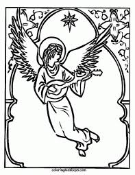 Small Picture Coloring Pages Angels Shepherds Coloring Sheets For Christmas