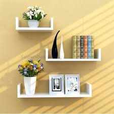 36 floating shelf floating wall shelves white set of 3 u shape floating wall shelves book