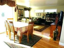 dining room table rug area rug under dining room table image of oval rug under dining