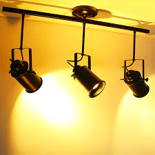 industrial track lighting industrial track lighting zoom. Vintage Spot Light Led Track Lamp American Industrial Style Coffee Bar Surface Mounted Ceiling Creative Personality · Zoom Lighting S