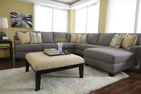 U Shaped Couch Living Room Furniture Modern Sectional Sofa Grey Furniture Sectional Couches Design