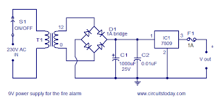 smoke detector circuit diagram the wiring diagram simple fire alarm circuit using ldr circuit diagram