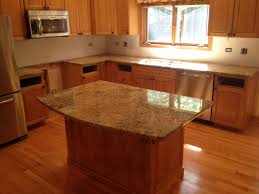 Kitchen Island Countertop Ideas Islands With Cool Light Brown Granite  Design Idea Cabinet