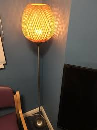 Bamboo Floor Lamp From Ikea In Bournemouth Dorset Gumtree