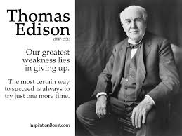 Thomas Edison Quotes Delectable Thomas Edison Quote Inspiration Boost