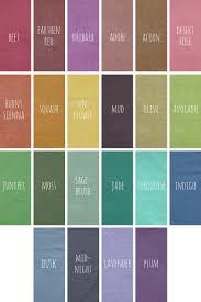 Color Chart For Clothes Colors Bohemian Folk Carefree And Organic Womens Clothing