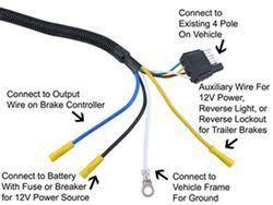7 wire trailer plug wiring diagram wiring diagram trailer wiring diagram 7 pin round electrical