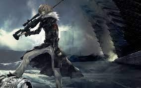 Lonely Sniper Anime Boy Wallpaper ...