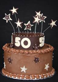 50th Birthday Cakes Ideas With Suitable Birthday Cake Decorations
