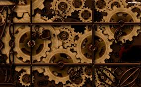 Steampunk Aircraft Steampunk Gears Desktop