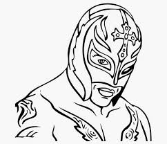 Small Picture Rey Mysterio Coloring Coloring Coloring Pages