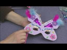 Decorating A Mask Making Foam Masks for Kid's Crafts Decorating a Butterfly Mask 26
