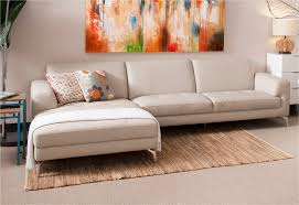 Image of: Chaise Lounge Couch Leather