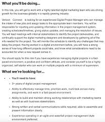 Project Manager Job Description What It Means To Be A Digital Project Manager Teamgantt