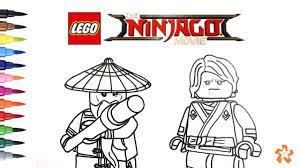 LEGO Ninjago Coloring Pages Baby Wu (Page 2) - Line.17QQ.com