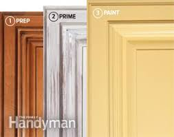 Small Picture How to Spray Paint Kitchen Cabinets Family Handyman
