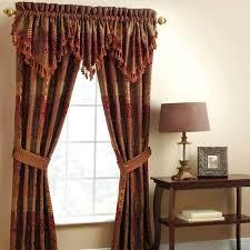 croscill galleria red curtain panel pair comforter set